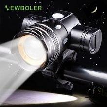 Newboler 800lm Фонарик Для Велосипеда t6 zoom светодиодный налобный