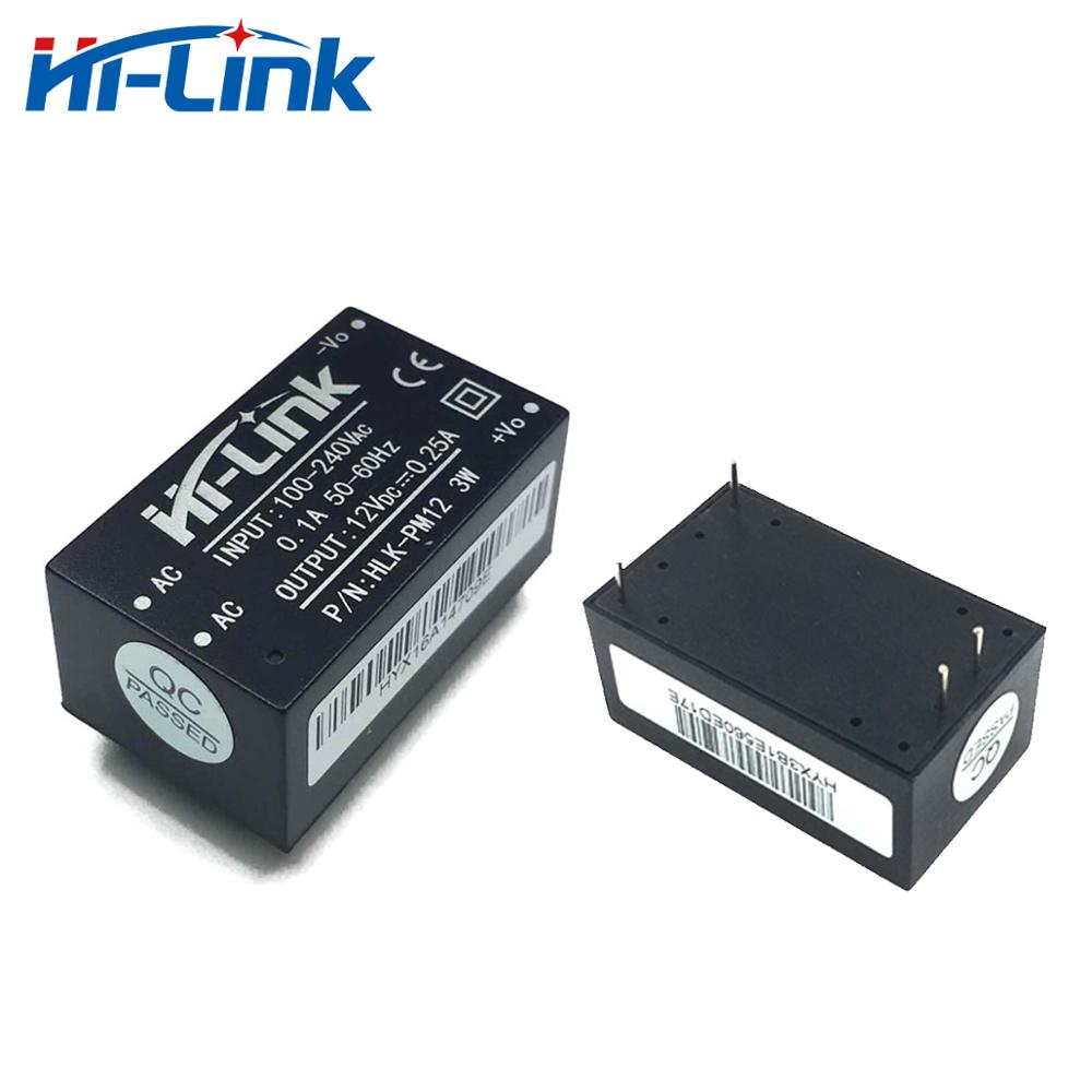 Hi-Link Original New Style Ac Dc Power Supply Module 220V To 12V 0.25A HLK-PM12