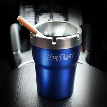 Aluminum automobile ashtray vehicle gift