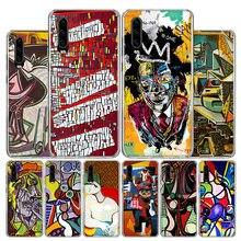 Pablo Picasso sztuka abstrakcyjna malowanie przypadku telefonu dla Huawei P30 P40 P20 P10 Mate 30 20 10 P inteligentny Z Lite Pro Plus + 2019 pokrywa Coq