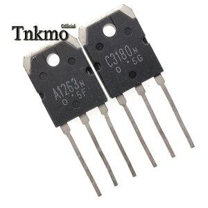 Image 5 - 10 пар, 2SA1263, 2SA1263N, A1263N + 2SC3180, 2SC3180N, C3180N, TO3P, силикон, NPN, PNP, тройной рассеянный тип, бесплатная доставка