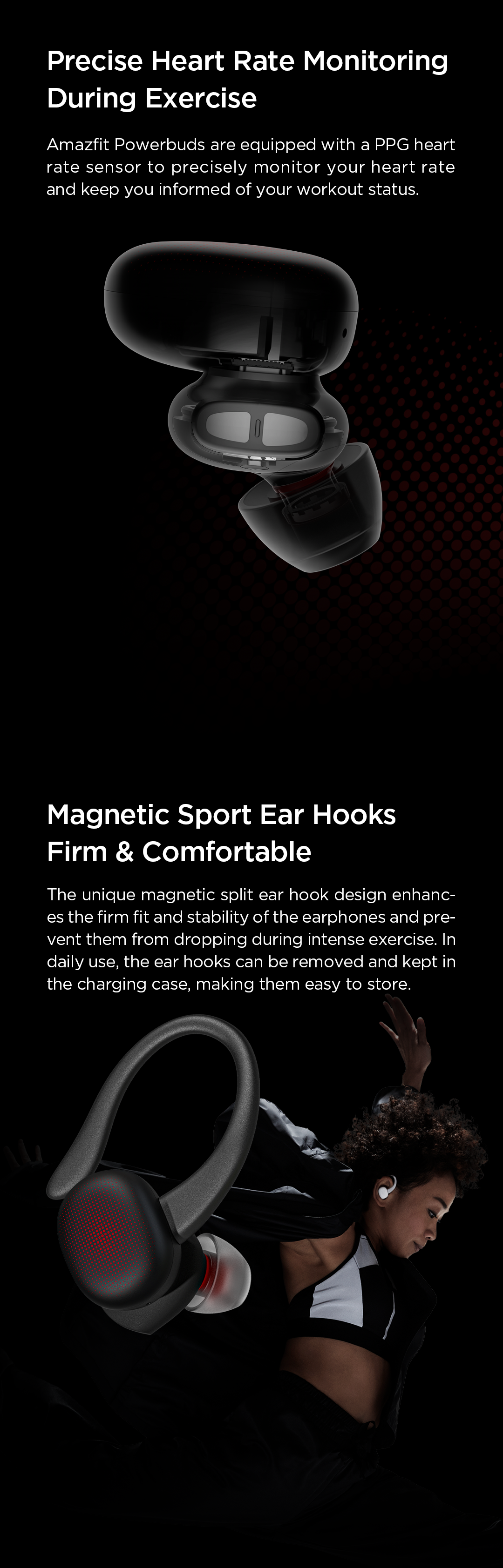 Amazfit PowerBuds - TWS Wireless In-Ear Phones