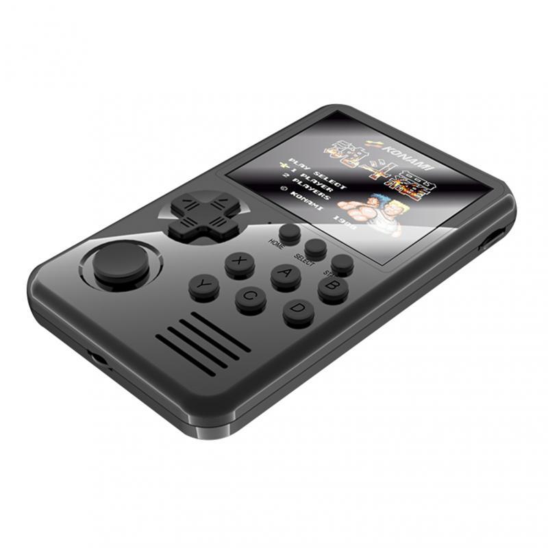 M3S Mini Console de jeu portable joueurs 16 bits rétro Consoles de jeux Console avec 4G jeux de cartes jeux 1500 intégrés