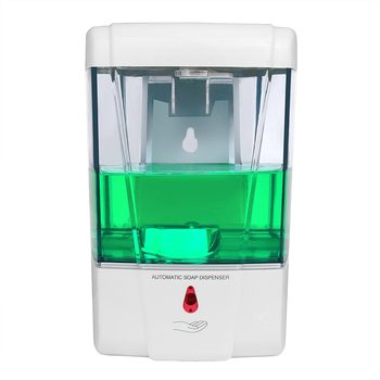 цена на Wall-mounted Soap Dispenser Household Automatic Hand Sanitizer Dispenser Bathroom Wall-mounted Hand Washer 700ML