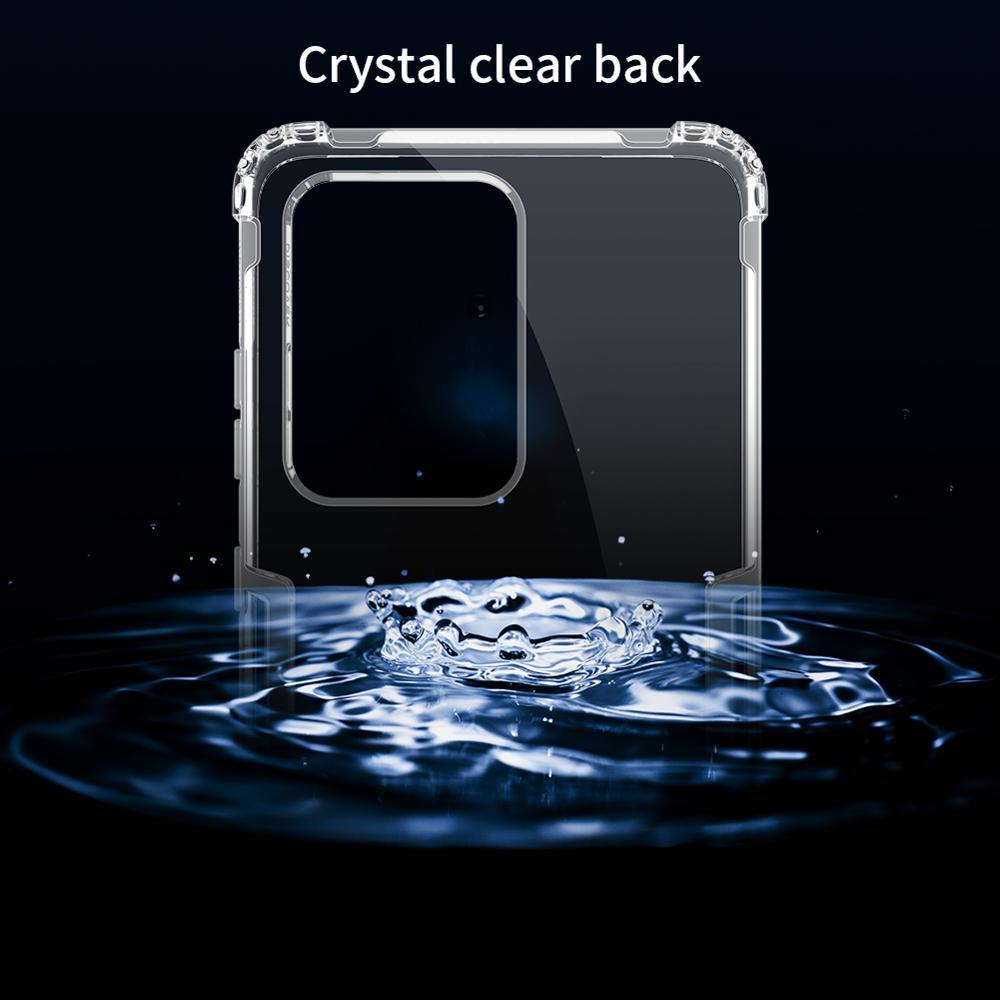 Samsung Galaxy S20 Ultra NILLKIN Təbiət TPU üçün şəffaf - Cib telefonu aksesuarları və hissələri - Fotoqrafiya 4