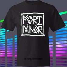 Camisa de t camisa nova fort minor hip hop rock band mike shinoda preto camiseta feminina(China)