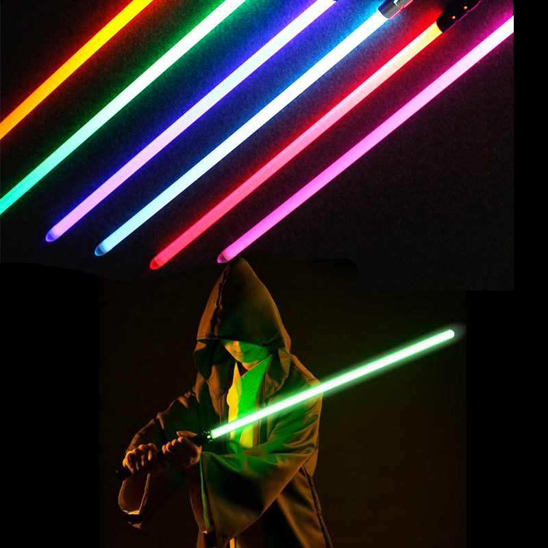 Toy Lightsaber Star Wars Replica Jedi Sith Darth Vader Rey Yoda Light Saber Sword With Original Sound Starwars Cosplay Toy