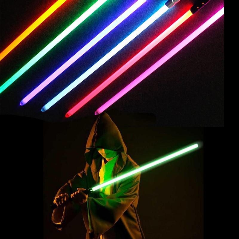 Toy Lightsaber Star Wars Replica Jedi Sith Darth Vader Rey Yoda Light Saber Sword With Original Sound Starwars Cosplay Toy