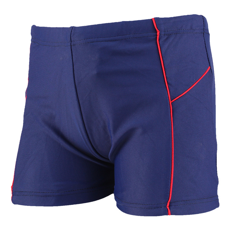 CHILDREN'S Swimming Trunks Boxer Comfortable Shorts Mixed Colors Lines Shorts Boy Quick-Dry Swimming Trunks