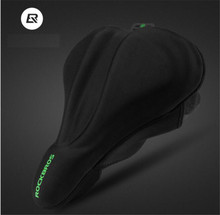 ROCKBROS Big Size Sponge Bicycle Saddle Cover Breathable Anti-Slip MTB Road Bike Cycling Seat Soft Hollow Cushion