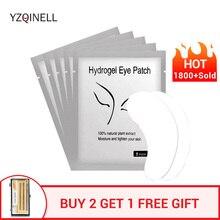 속눈썹 건물을위한 패치 보풀이없는 눈 패드 속눈썹 연장 도구 10/50/100 짝/몫 YZQINELL