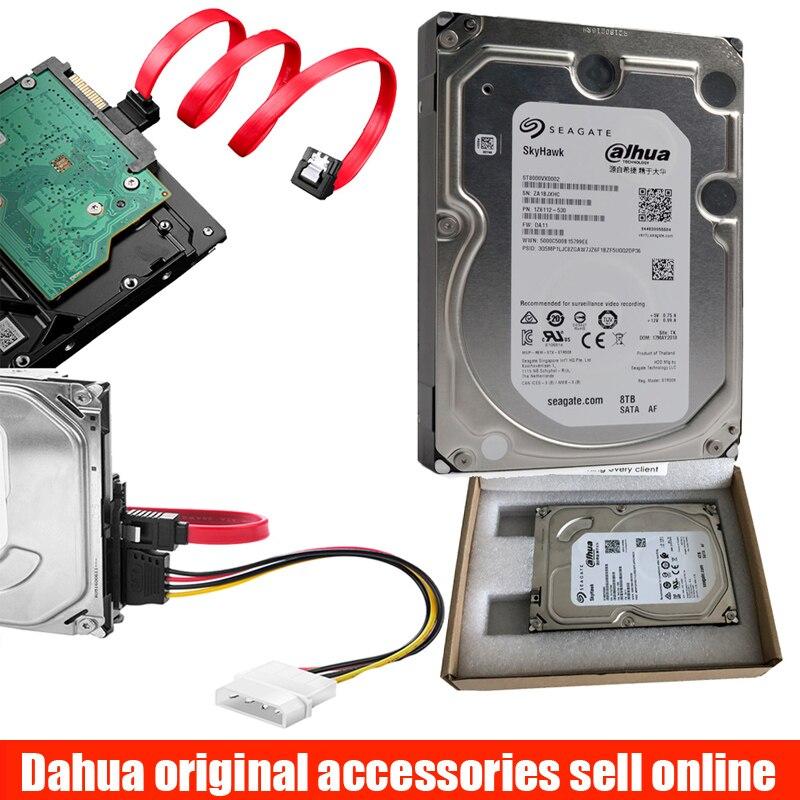 "Dahua Professional monitor Hard Drive Disk HDD 3.5"" 7200RPM 2TB 3TB 4TB 6Tb 8tb for computer desktop PC CCTV DVR RECORDER"