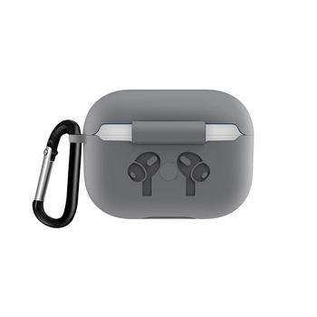 Silicone Case with Anti Lost Buckle for AirPods Pro 4