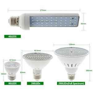 Image 3 - LED Grow Light Bulb Full Spectrum Lamp E27 LED Lights for Indoor Growing E27 Bulb Phytolamp for Plants Seedling Flower Grow Tent
