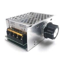 220V Dimmer Voltage-Regulator Electric Motor-Speed-Controller 4000W SCR AC
