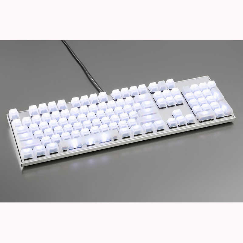 Oem Profile 104 Keys Ansi Pudding Keycaps Blank Of Mechanical Keyboard Cherry Mx Compatible Backlit Transparent Color Aliexpress