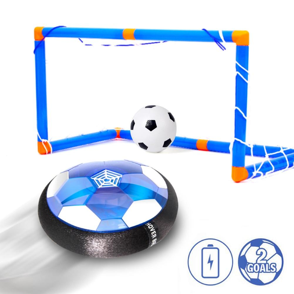 Air Power USB Hover Soccer Ball Toys Rechargeable Air Soccer Indoor Floating Soccer Ball With LED Light Christmas Gift For Kids