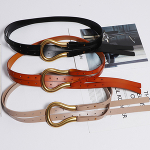 Image 4 - [BXX] 2020 Designer Belts Women High Quality Leather Belt For Dress Luxury Brand Fashion Waist Femme Style Waist Belt HJ717