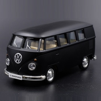 High Quality Exquisite Diecasts & Toy Vehicles: RMZ City Car Styling VW T1 Transporter Classical Bus 1:36 Alloy Diecast Model