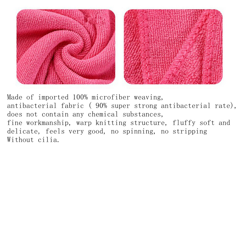 New Microfiber Strong Absorbent Water Bath Pet Towel Dog Towels Puppy Teddy General Pet Bath Supplies Cat Accessory 10