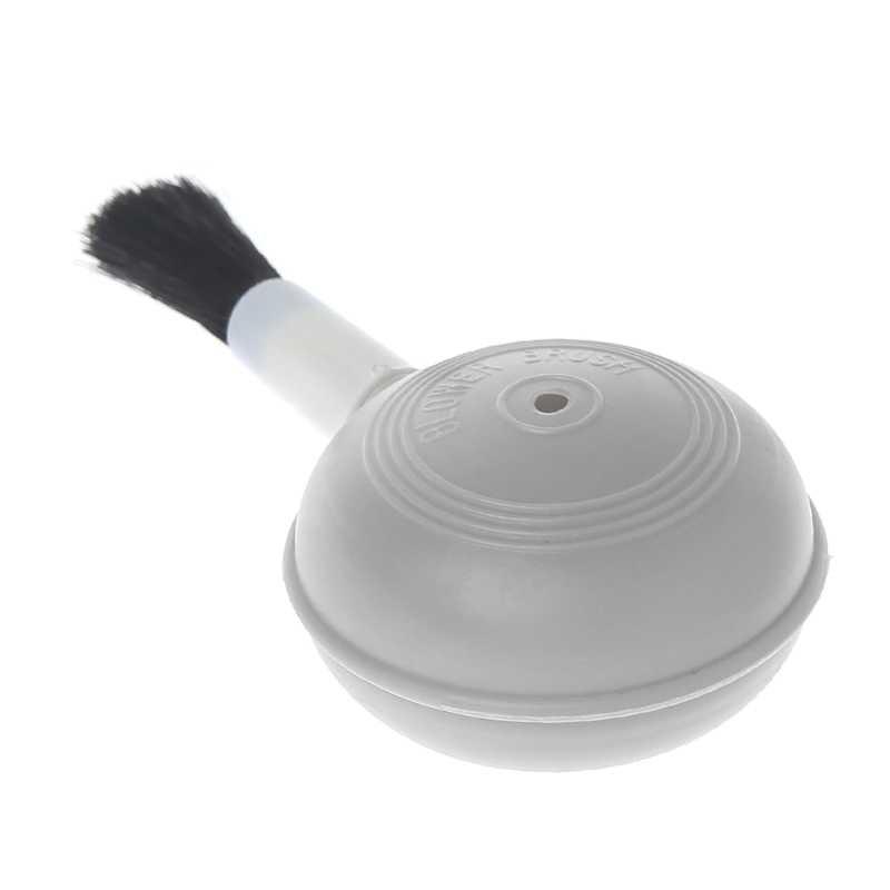2 في 1 منفاخ الهواء فرشاة تنظيف عصاري الخرز الهواء منظف الغبار للكاميرا لين