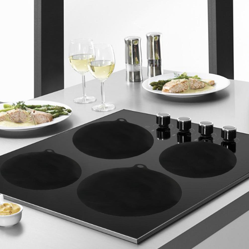 Induction Cooktop Mat Nonslip Induction Cook Top Pad Silicone Heat Insulated Mat