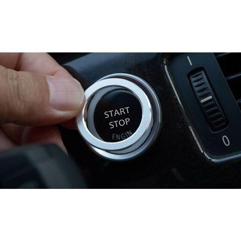 Decor Switch Decoration Trim Trim For BMW 3 Series E90 Engine Start/Stop Button