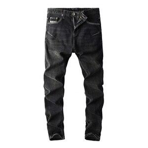 Image 2 - 2019 新着ファッション dsel ブランド男性のジーンズ洗浄フラワープリントジーンズ男性カジュアルパンツデザイナージーンズ男性!702 A