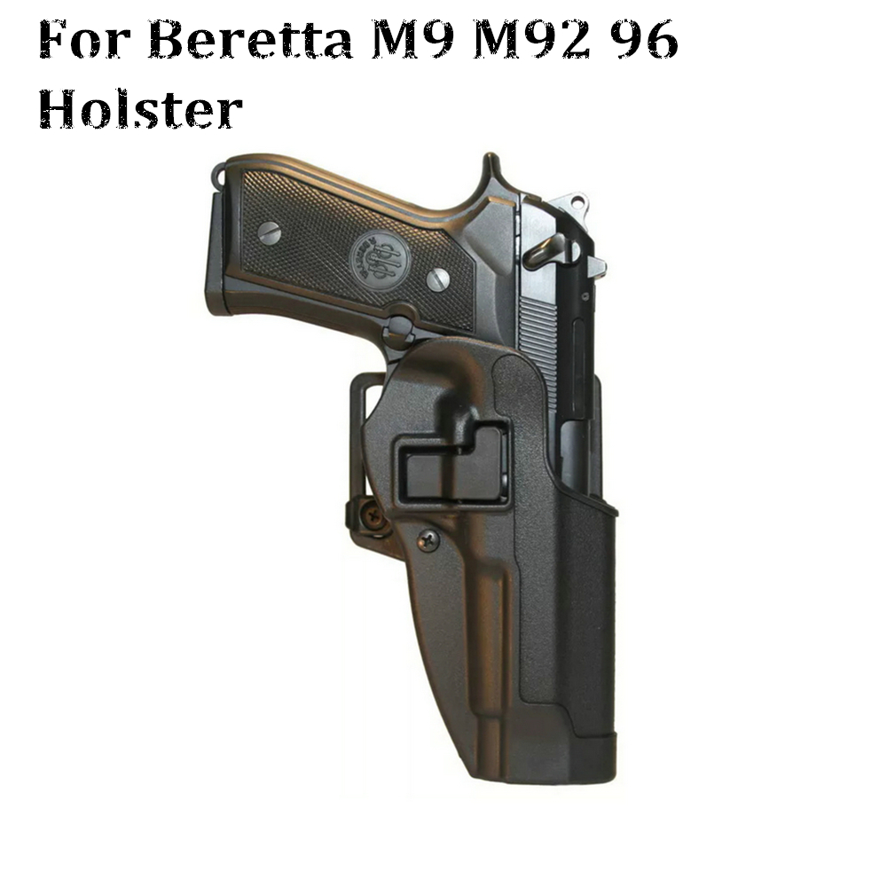 Tactical Hunting Accessories Holster Beretta M9 92 96 Military Combat Airsoft Pistol Gun Holster Waist Loop Paddle Shoot