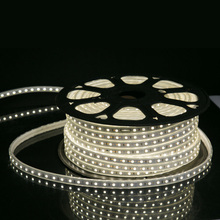 SMD 2835 Flexible Lighting 3M 5M AC 220V Waterproof LED Strip Light 180LED/M RGB White Indoor/Outdoor LED Tape Lighting