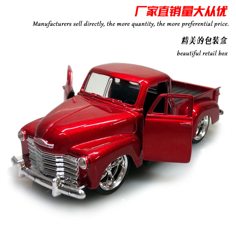 JADA 1/32 Scale 1953 CHEVY PICKUP Truck Diecast Metal Car Model Toy For Gift,Children,Collection