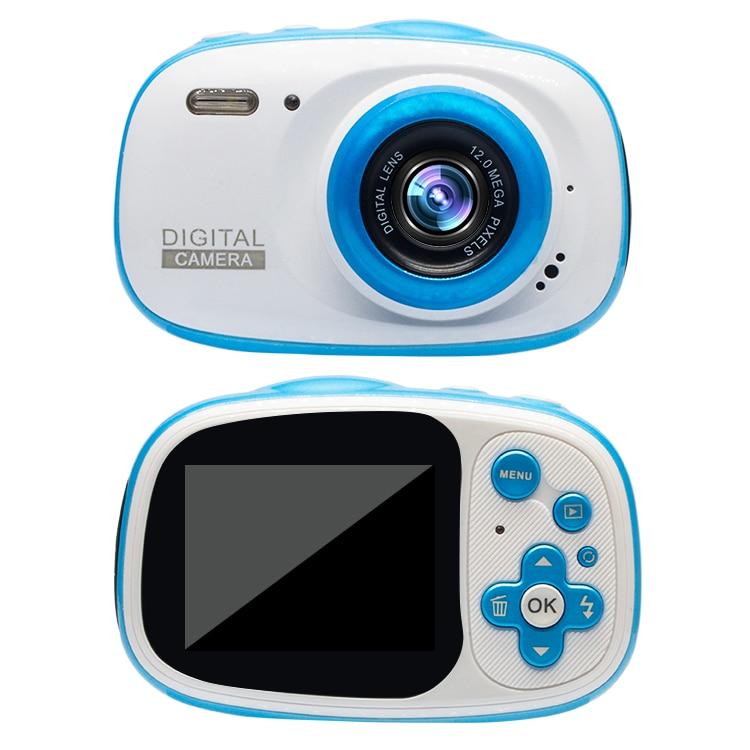 Mini cámara para niños, juguetes educativos para niños, regalos para bebé, regalo de cumpleaños, resistente al agua IP68 con cámara de vídeo de 1080P - 5