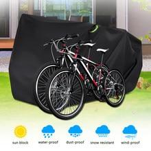 Ciclo à prova dwaterproof água resistente capa de bicicleta ao ar livre ciclo capa 210d oxford poliéster à prova de água acessório RL19-0012G
