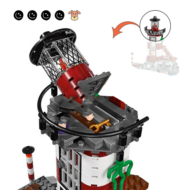 Fit 75903 Scooby Doo Haunted Lighthouse Set Animal Dog Mini Figure Bela 10431 Building Blocks Toys For Children Gifts 3