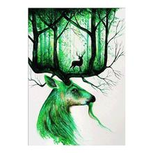 Diamond Mosaic Full 5D DIY Embroidery Goat And Deer Cross Craft Decor Gifts Craft Art одежда для йоги art and craft s258