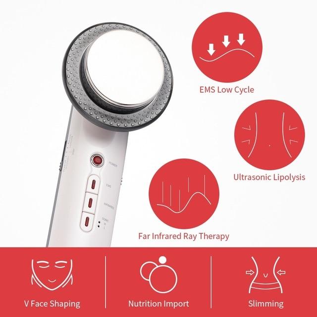 Ultrasonic EMS Body Slimming Massager  5