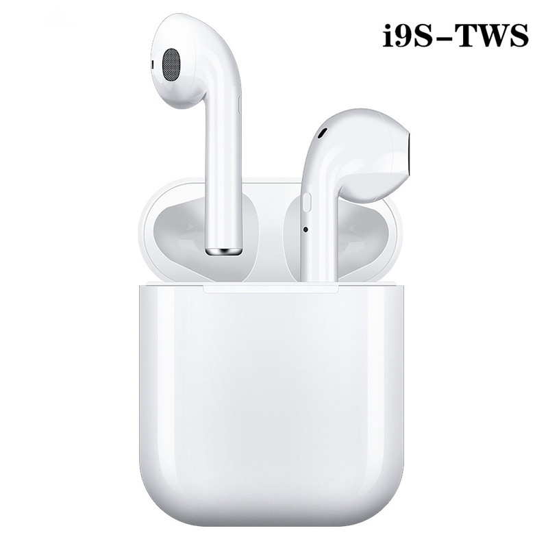 i9s true Wireless earphone sport Bluetooth Headset stereo earbuds Headphones with charge box For Huawei Samsung Xiaomi iphone