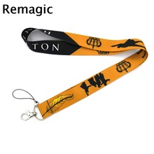 Broadway musical Hamilton regali d'epoca Collo portachiavi collana Del Fumetto Del Anime Strap Lanyard ID badge holder Keychain della Cordicella(China)