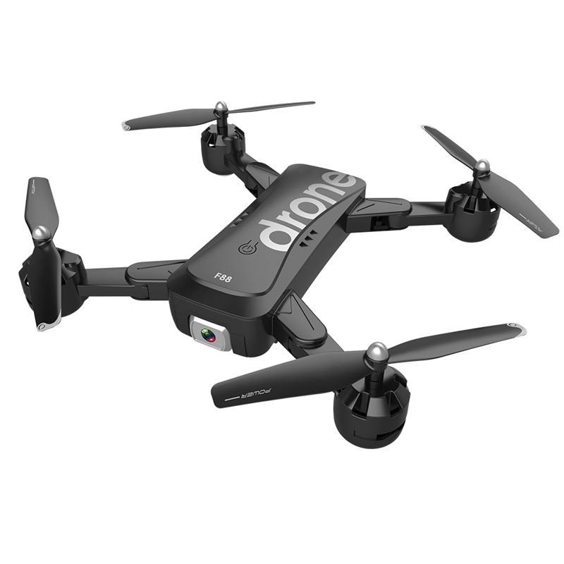 lowest price F88 Drone RC Quadcopter Foldable Portable WiFi Drones with 1080P HD Wide-Angle Live Video Camera Altitude Hold Mode Drone Toys