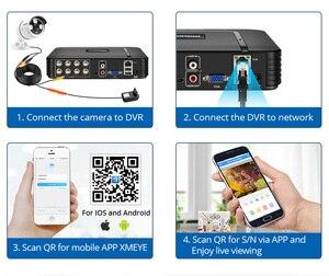 Image 5 - MISECU 8CH 1080N DVR نظام الدائرة التلفزيونية المغلقة 4 و 2 قطعة الأشعة تحت الحمراء كاميرا AHD 1080P في الهواء الطلق مقاوم للماء المنزل مجموعة مراقبة الفيديو XMeye HDD P2P HDMI