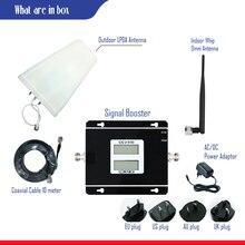 Двухполосный 8 полосный 1 ретранслятор 2g 3g усилитель WCDMA 2100 МГц GSM 900 МГц 3g WCDMA и 2G GSM LDPA и whip omni усилитель антенны