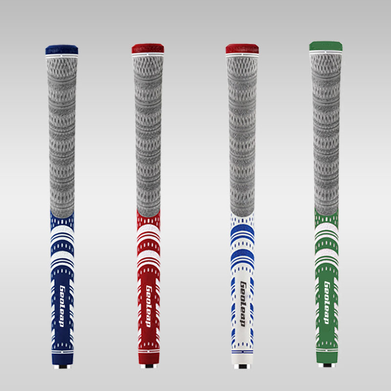 Golf Grips Multi Compound Golf Irons Club Grips Cord 4 Colors Standard 10pcs Free Shipping