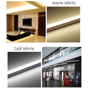 Image 5 - Ampoule Tube T8 LED néon, 10w 60cm, ac 110/220v, Tube Fluorescent à LED, lampe à LED, laiteux, blanc chaud, rouge, bleu, rose, SMD2835