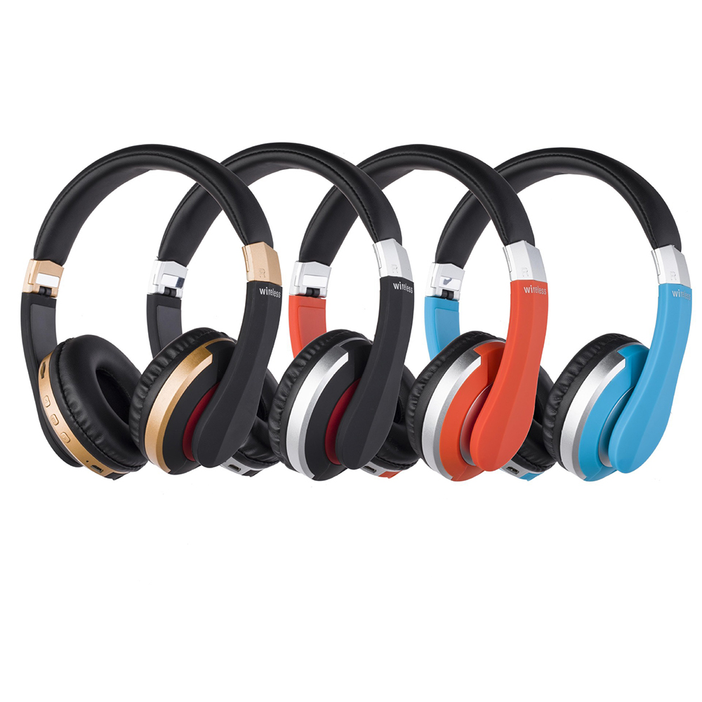 MH7 Wireless Headphones Bluetooth Headset Foldable Stereo Gaming Earphones With Microphone Support TF Card For iphone