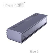 Qianli iSee LCD ekran onarım lamba toz parmak izi çizilmeye algılama işık gres arama lambası telefon tamir için yenileme