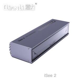 Image 1 - Qianli isee tela lcd lâmpada de reparo poeira impressão digital risco detecção graxa luz pesquisa para reparação do telefone remodelação