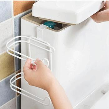 For Bathroom Toilet Seat Roll Paper Holder Hanging Organizer 2 Layers Stainless Steel Tissue Towel Shelf Kitchen Storage Rack toilet paper holder bathroom organizer shelf kitchen towel tissue holder double roll paper rack toilet rack bathroom accessories