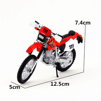 Maisto 1/18 1:18 Scale Honda XR400R Motorcycles Motorbikes Diecast Display Models Birthday Gift Toy For Boys Kids maisto 1 18 1 18 scale ducati 848 motorcycles motorbikes diecast display models birthday gift toy for boys kids
