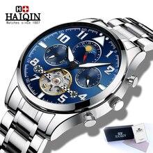 New HAIQIN Watch Men Automatic Mechanical Watch