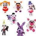 20 см 7 видов стилей у Фредди FNAF мягкие игрушки с героями игры «пять ночей с Фредди» (Freddy's» «пять ночей у Фредди» медведь Фредди Бонни Детские ...